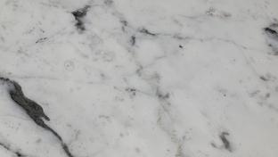 Bianco Carrara, poliert